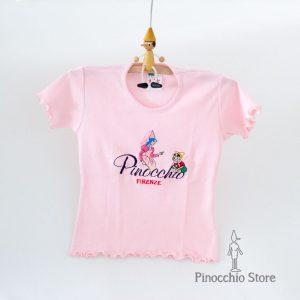 T-shirt ricamata bambina