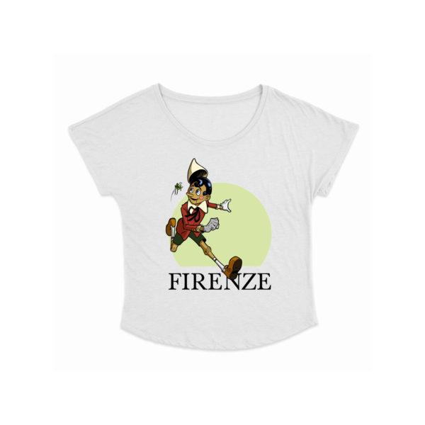 T-shirt donna Pinocchio Corre