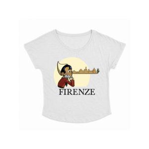 T-shirt donna Pinocchio Skyline