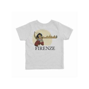 """T-shirt per bambini """"Pinocchio Skyline"""""""