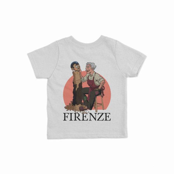 T-shirt bambini Pinocchio e Geppetto