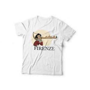 t-shirt uomo pinocchio skyline