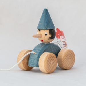 Macchina con corda Pinocchio