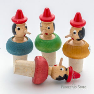 tappi per bottiglia Pinocchio