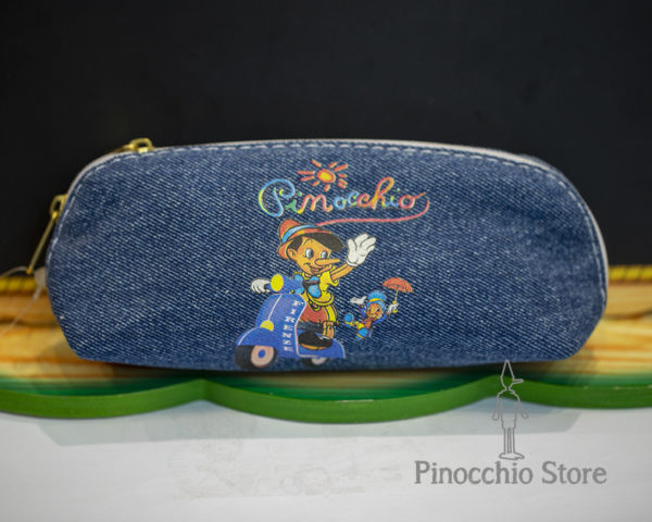 Astuccio in jeans di Pinocchio