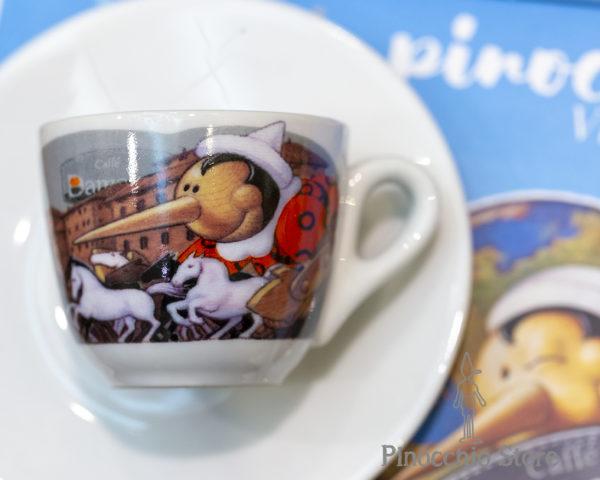Tazzine caffè Pinocchio Siena