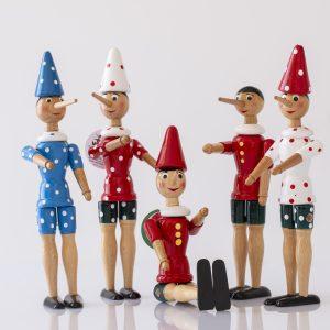 Pinocchio a pois